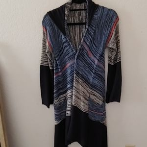 Venus long cardigan sweater